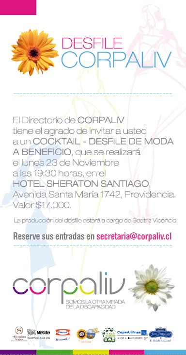 INVITACIÓN DESFILE CORPALIV 2015