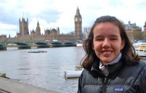 Ignacia Picas se convierte en la primera joven Chilena en recibir el Premio Internacional DIANA
