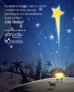 Feliz Navidad te desea Corpaliv y la Escuela Especial Jan Van Dijk