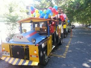 Paseo en Tren por Ñuñoa