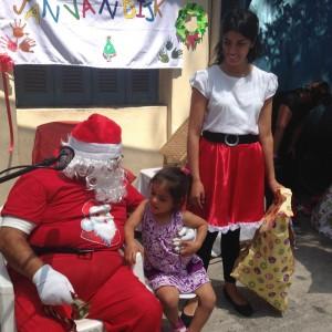 Niños con discapacidad visual y multidéficit de Corpaliv vivieron su fiesta de Navidad