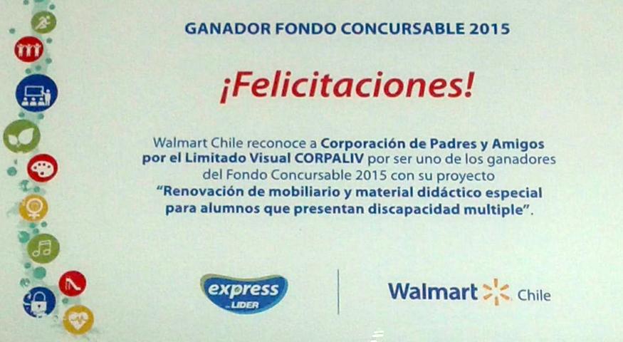 Alianza solidaria entre Corpaliv  y Walmart