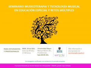 Musicoterapeutas de Corpaliv imparten Seminario de Musicoterapia