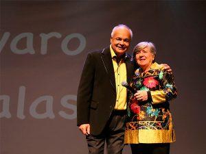 Gran éxito tuvo el show de Alvaro Salas a beneficio de los niños de Corpaliv