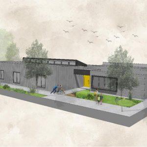 El gran proyecto de la reconstrucción de la nueva Escuela de Corpaliv